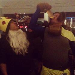 Hoodie Ice King vs BoozeHound by Psycorax