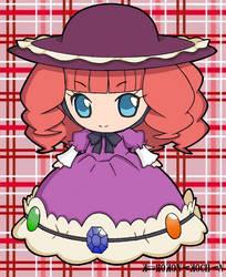 Shugo Chara - Nana - Colored by KuroKonekoChan