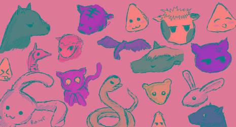 Fruits Basket Iscribble by KuroKonekoChan