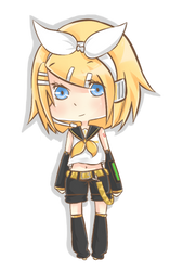 Chibi Rin by KuroKonekoChan