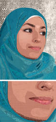 Portrait.Asma by NaHoOo