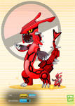 Rayquaza Groudon Fusion by AtomicTech