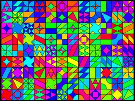 Colourful shapes by ciokkolata