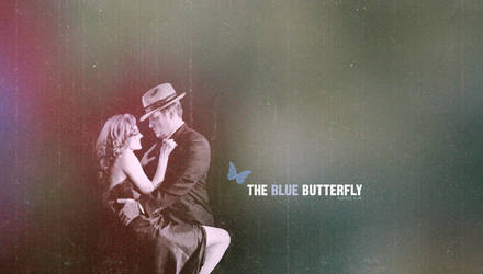 The Blue Butterfly by freaky-x