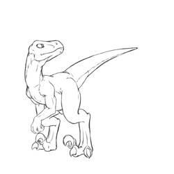 Raptors are Cool. by AtoKitsune