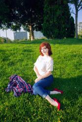 MJ's Summer by Lleye