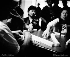Mahjong Players by FideNullo