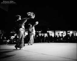 Japanese Dancers by FideNullo
