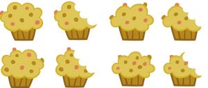 Muffins by PsychicWalnut
