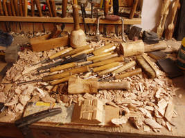 Woodcarver tools by woodcarve