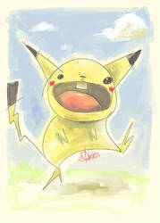 PIKACHU by quick2004
