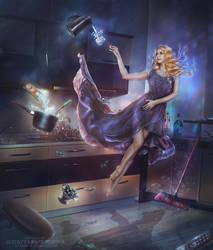 Kitchen fairy by TatyanaChe