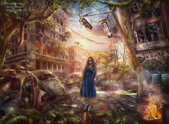 Dawn of the New world by TatyanaChe