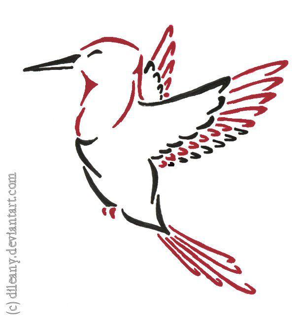 Kolibri Tattoo Nr 2 By Dileany On Deviantart