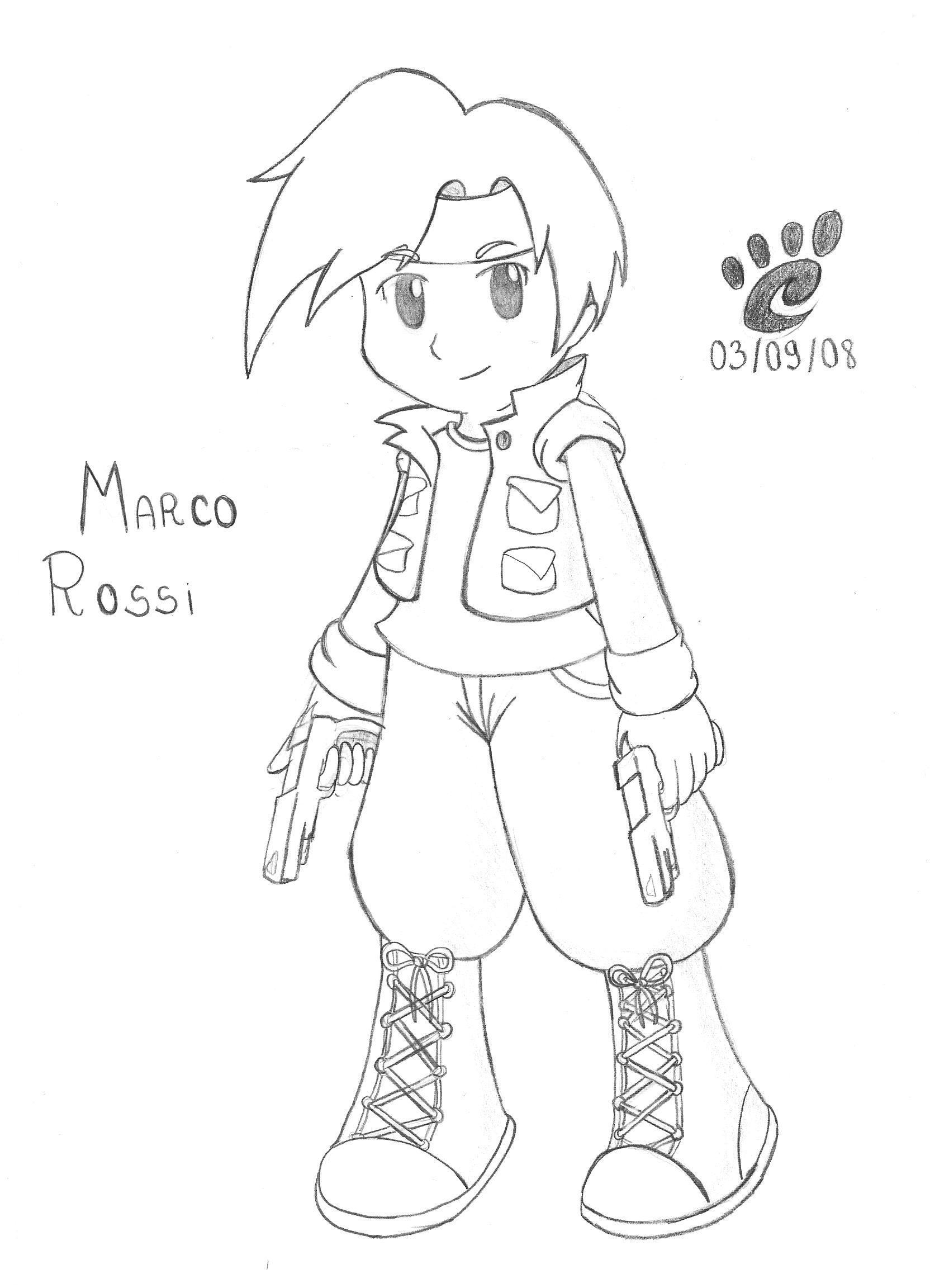 Marco no estilo Chibi by MarinaMS