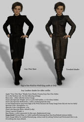Daz Iray Leather Shader Tutorial by Sangriart