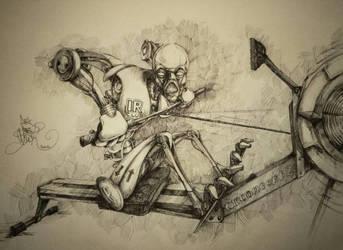 iron rower by gluckart