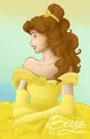 Princess Belle by princessJASlinh
