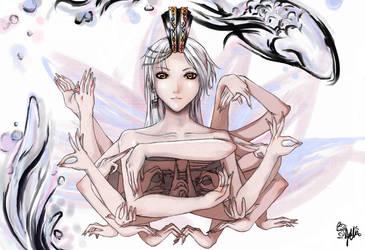 Qian Shou Guan Yin by ryujin-0
