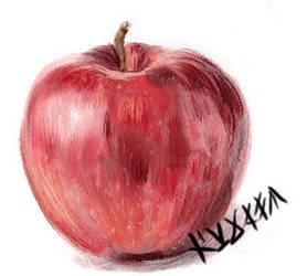 Apple 8D by ryujin-0