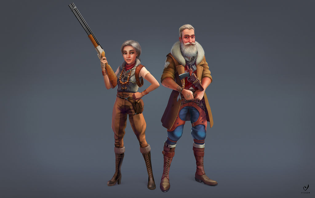 Old mens by Bahryi