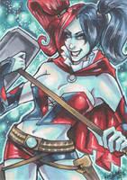 Commission: Harley Quinn by skardash