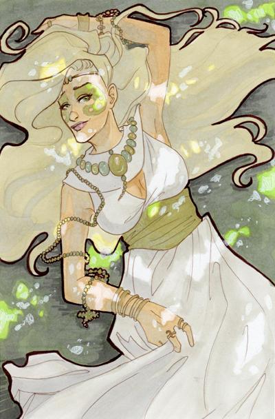 Drifting Dust: Emerald by skardash