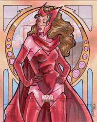 Artist's Proof: Scarlet Witch by skardash