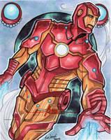 Artist's Proof: Iron Man by skardash