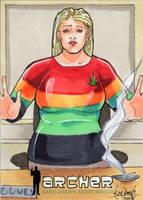 Pam Poovey - Rasta by skardash