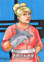 Pam Poovey - Dolphin by skardash