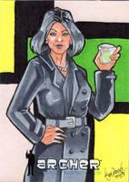Mallory Archer 02 by skardash