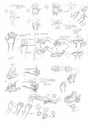 How to Draw Hands by mangadrawerika91