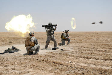 Carl Gustav Rocket by MilitaryPhotos