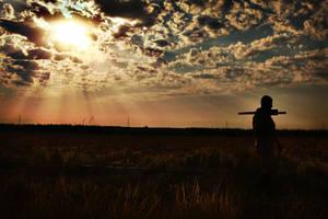 Kirkuk Sunset by MilitaryPhotos