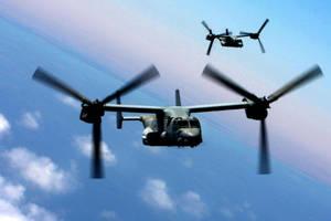 MV-22B Ospreys by MilitaryPhotos
