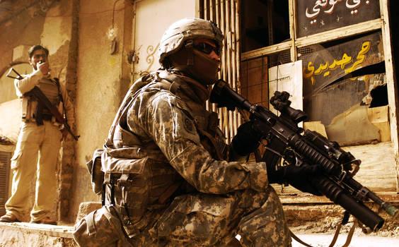 Rusafa Baghdad by MilitaryPhotos