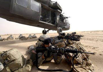 Al Jazeera Desert Iraq by MilitaryPhotos