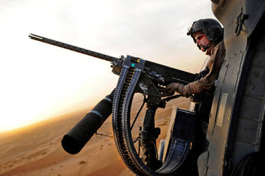 HH-60 Gunner by MilitaryPhotos