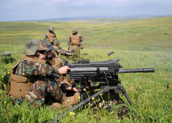 MK-19 Grenade Launcher by MilitaryPhotos
