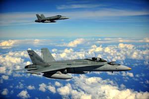 Royal Australian Air Force F/A-18 Hornets by MilitaryPhotos
