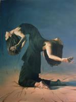 oil painting by rashakomery