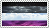 Asexual sky aesthetic stamp by ShinyImmortals