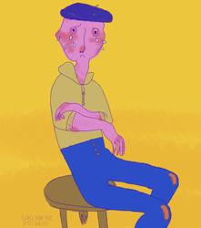 Bench Dude by VincentDuff