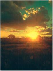 Sunset by PrometheanPenguin