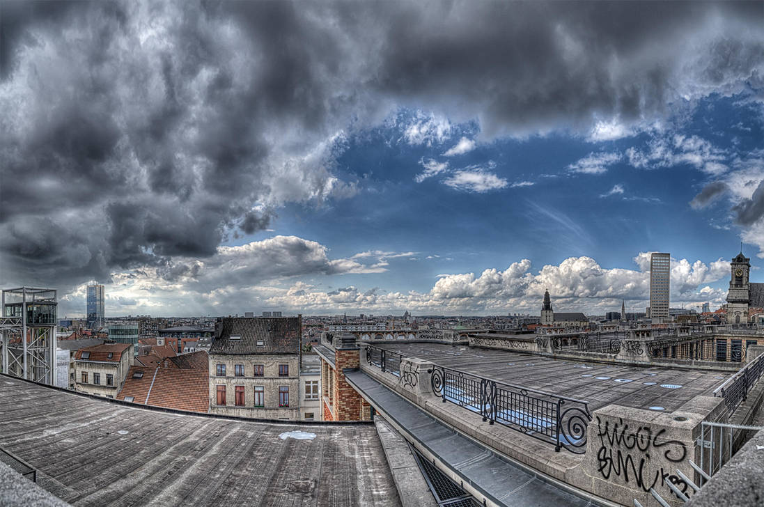 Brussels panorama by DDr3ams
