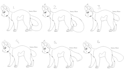 Free adoptable sheet lineart for cats | Pixel by Astrialeaves