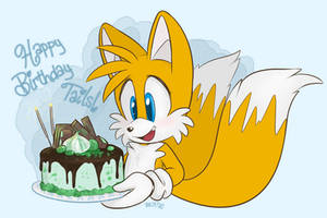 Happy Birthday Tails by DevotedSidekick