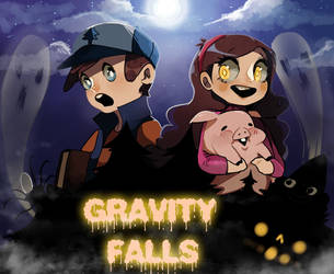 Gravity falls by Ame-nii