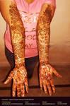 Bridal Mehandi 10_Heena Art by Artist Kamal Nishad by kamalnishad